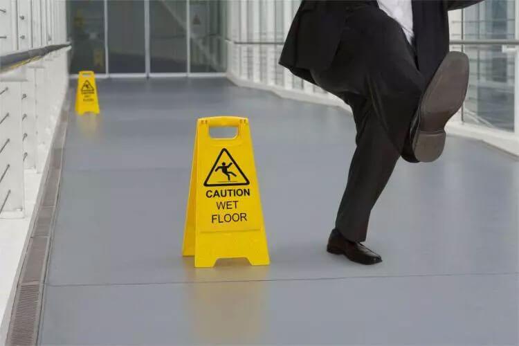 SESA floor slip testing - Floor Slip Testing