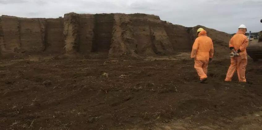 Asbestos Soil contamination