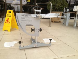 Wet Pendulum Slip Test 300x225 - Floor Slip Testing